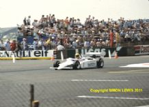 AYRTON SENNA Ralt RT3 F3 Silverstone photo 1983 (b)